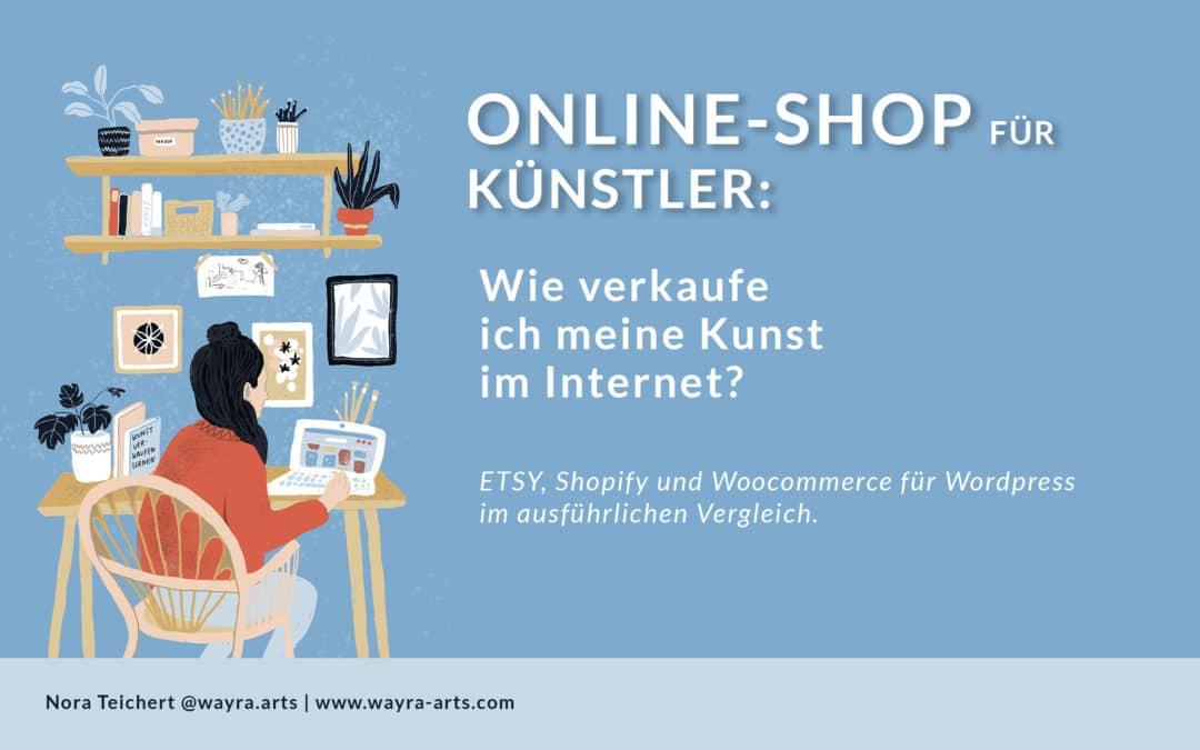Online Shop für Künstler: Wie verkaufe ich meine Kunst im Internet?