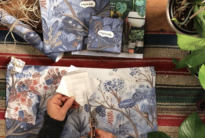 Umfreundlich Geschenke verpacken