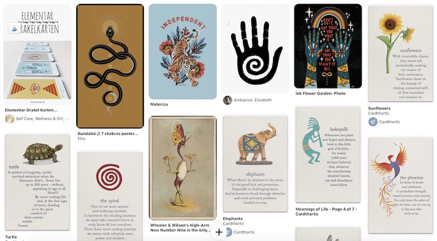 Symbole für die Kunst