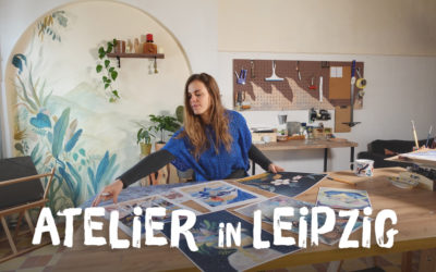Atelier einrichten: So entwickelt sich mein Atelier in Leipzig