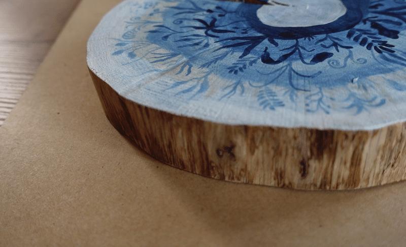 Malen auf Holz