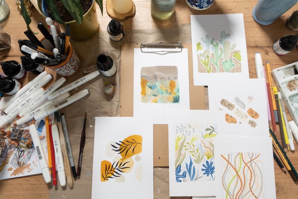 Malen lernen