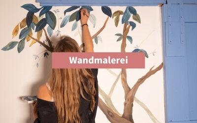 Wandmalerei: Wand bemalen mit Acrylfarben